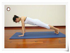 側棒式(瑜珈動作圖解-瑜珈教學8-手背曲線)