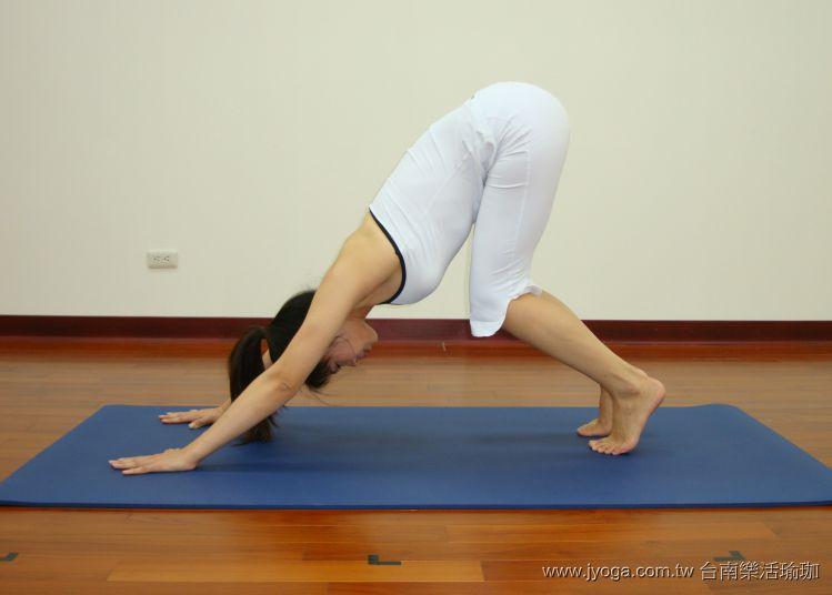 瑜珈教學21-全身緊實-下犬式