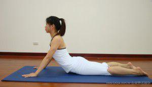 瑜珈教學24-背部曲線-眼鏡蛇式