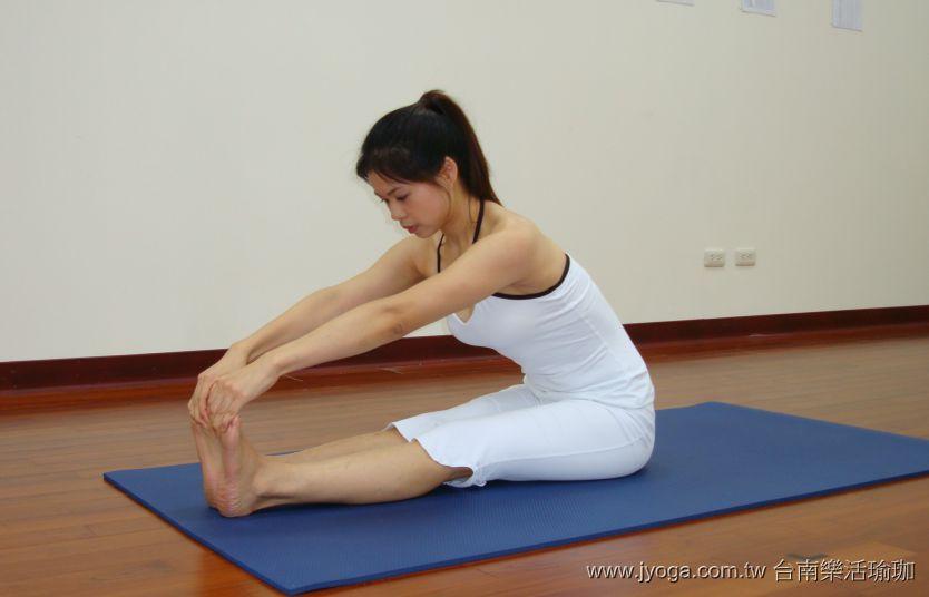 瑜珈教學22-腿部曲線-坐姿前彎式