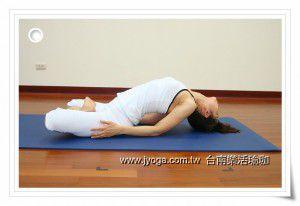 魚式 (瑜珈動作圖解-瑜珈教學12-頸部曲線)