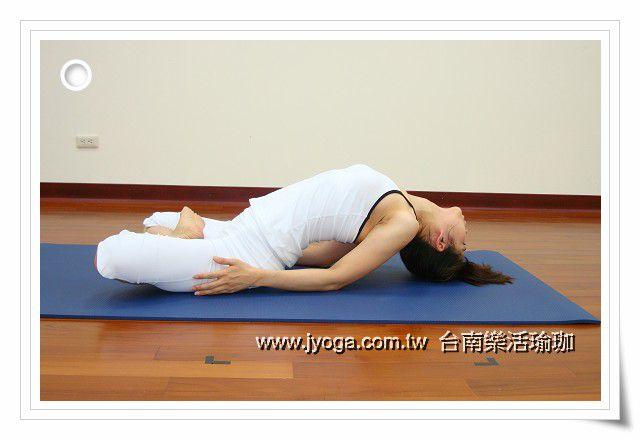 瑜珈教學12-魚式-頸部曲線