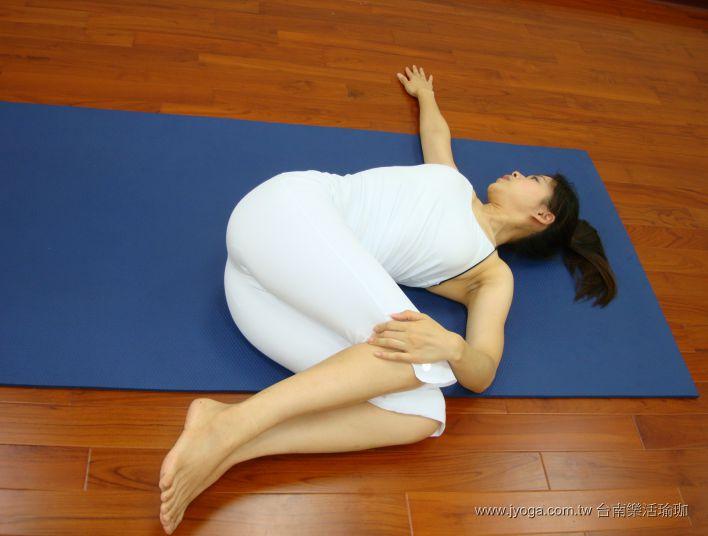 瑜珈教學31-腰腹雕塑-脊椎扭轉式