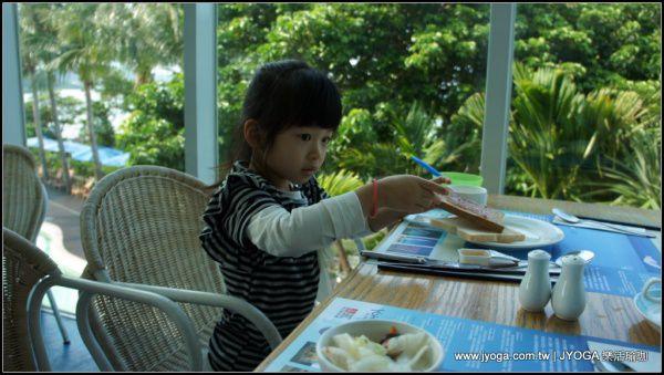 墾丁悠活渡假村臨海餐廳自助式早午餐