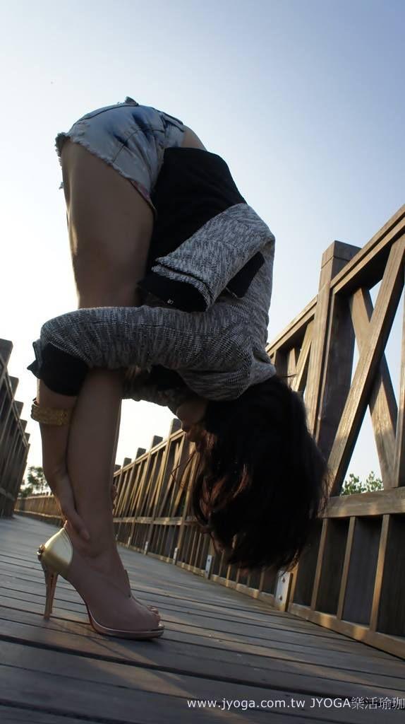 JYOGA樂活瑜珈-站姿前彎