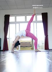 瑜珈教學35 背、腹部雕塑-輪式
