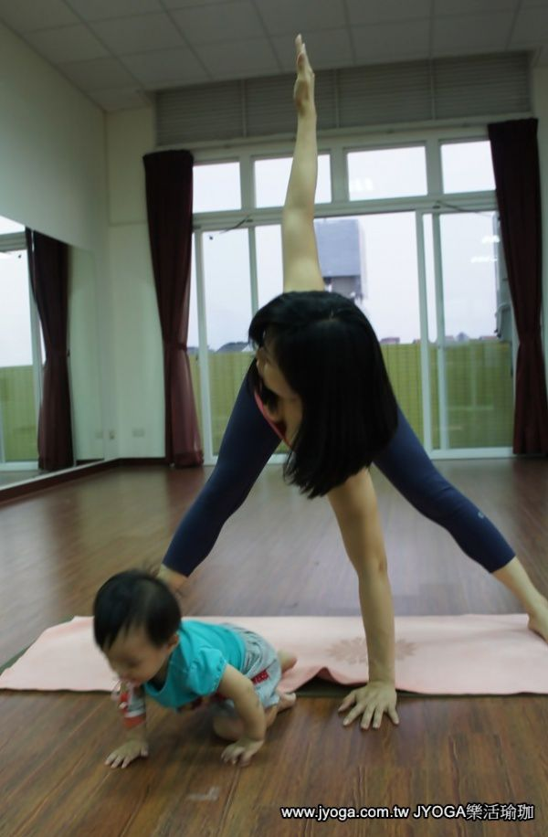 JYOGA樂活瑜珈-baby逃走了~