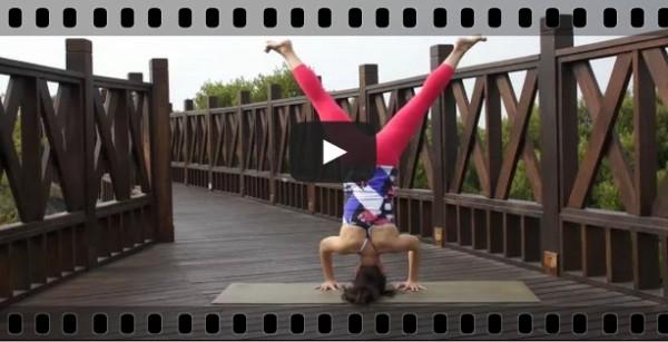 瑜珈教學影片-倒立式影片(headstand)