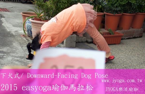 台南JYOGA樂活瑜珈-下犬式/ Downward-Facing Dog Pose