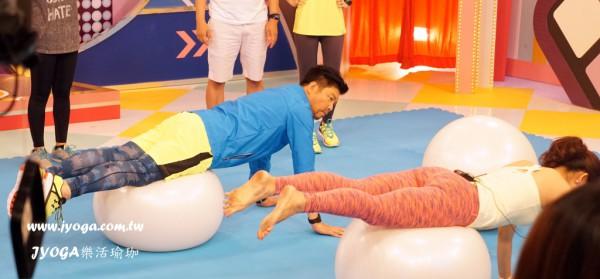 台南瑜珈教學-緯來電視台 緯來綜合台 玩美的人類(8)