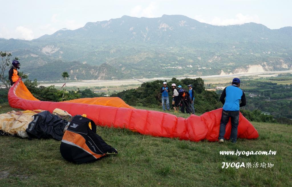 飞行伞初体验@台东鹿野高台【台南瑜珈】图片