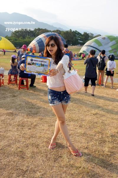 台南JYOGA樂活瑜珈-台東鹿野高台-熱氣球-11