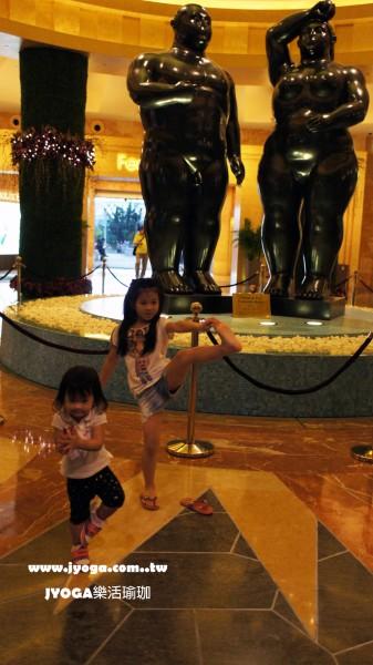 台南JYOGA樂活瑜珈-瑜珈教學-樹式 Tree pose Kids