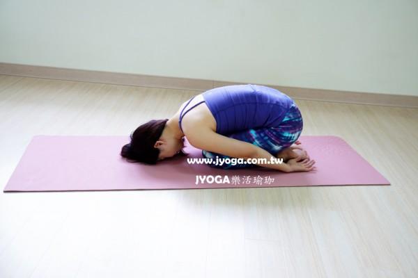 台南JYOGA樂活瑜珈-瑜珈教學-孩童式-baby pose