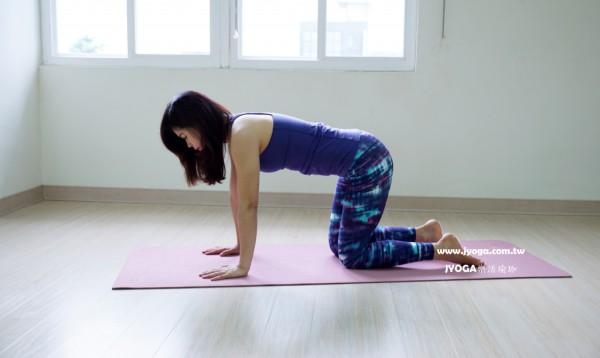 台南JYOGA樂活瑜珈-瑜珈教學-穿針引線式變化