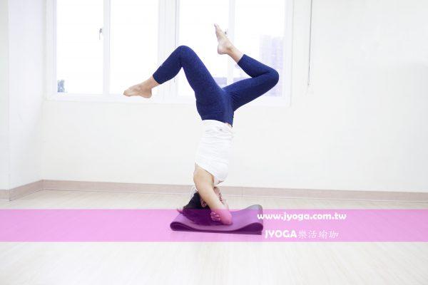 台南JYOGA樂活瑜珈-瑜珈教學-孕婦瑜珈-倒立