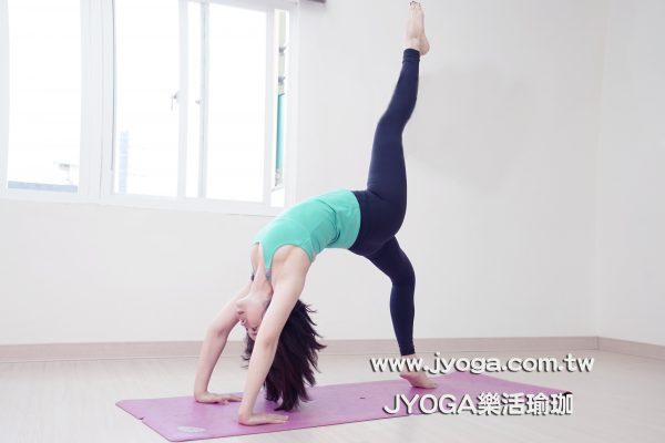 台南JYOGA樂活瑜珈-瑜珈教學-輪式變化