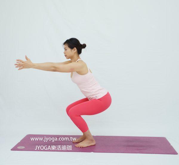 台南JYOGA樂活瑜珈-瑜珈教學-椅子式