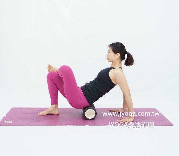 台南瑜珈-滾筒瑜伽舒筋瘦身全書-臀大肌