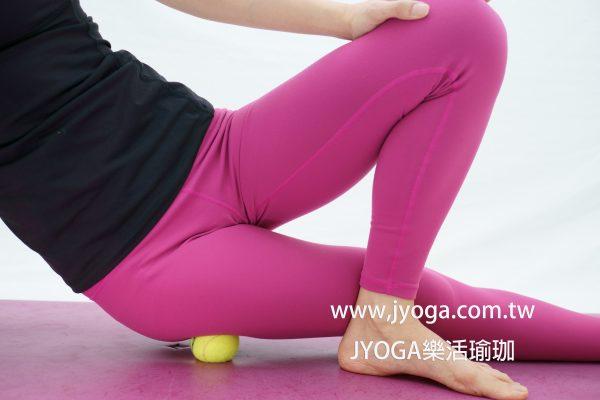 台南瑜珈-滾筒瑜伽舒筋瘦身全書-大腿外側
